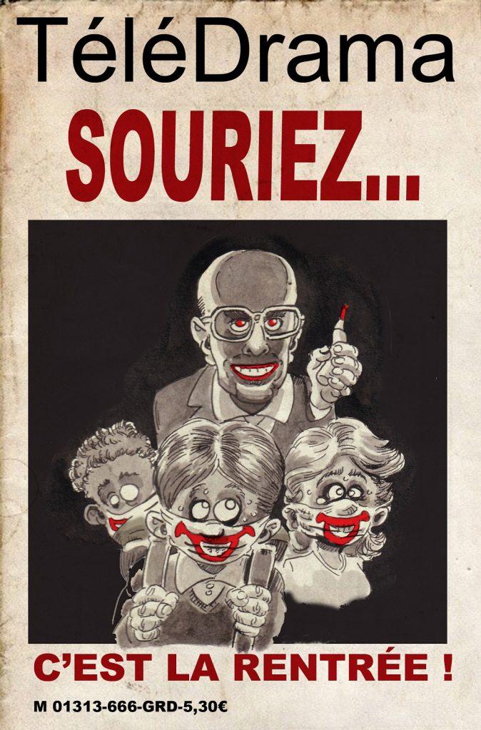 dessin presse humour Jean-Michel Blanquer image drôle rentrée scolaire