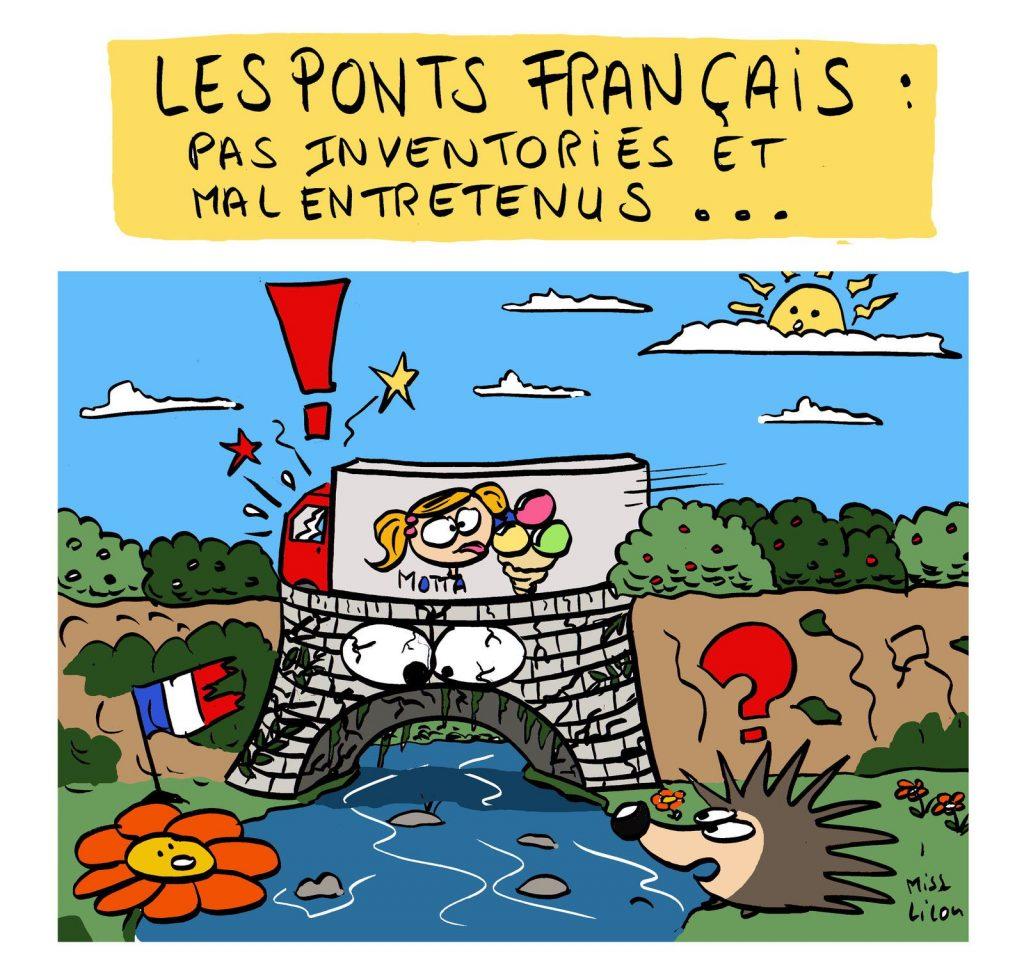 blague dessin France humour image drôle nounours entretien ponts français