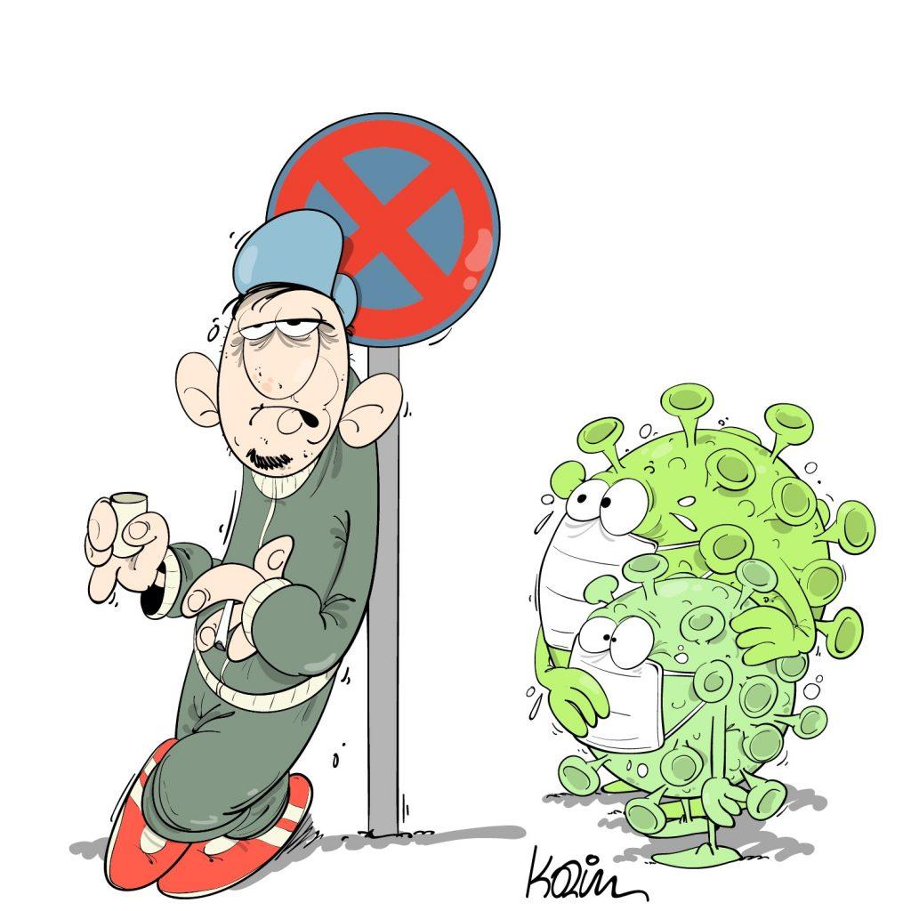 humour dessin algérie humoristique image drôle coronavirus