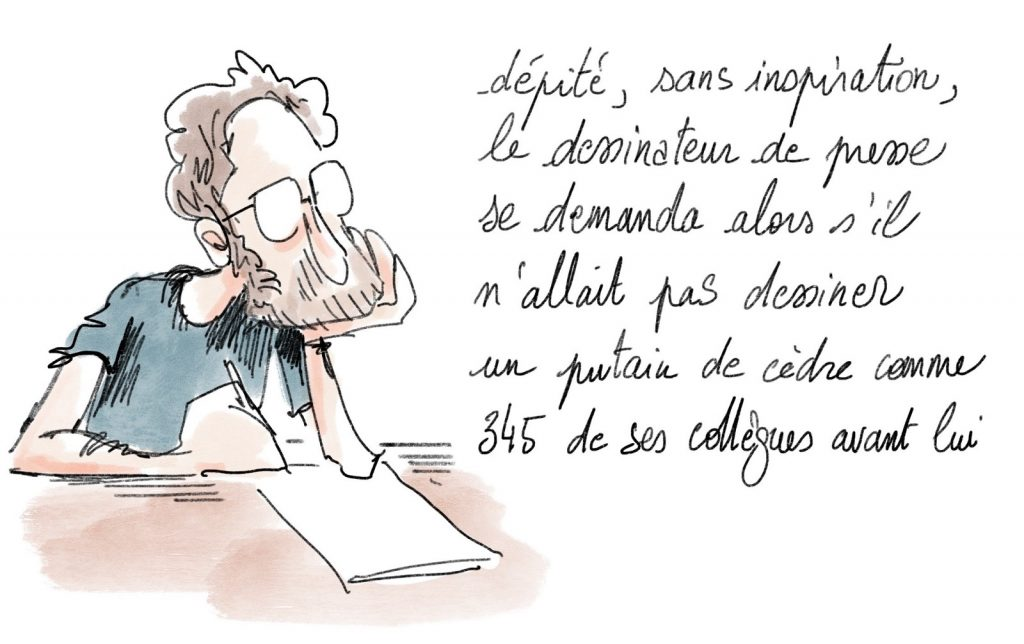 dessin presse humour Beyrouth image drôle Beirut explosion