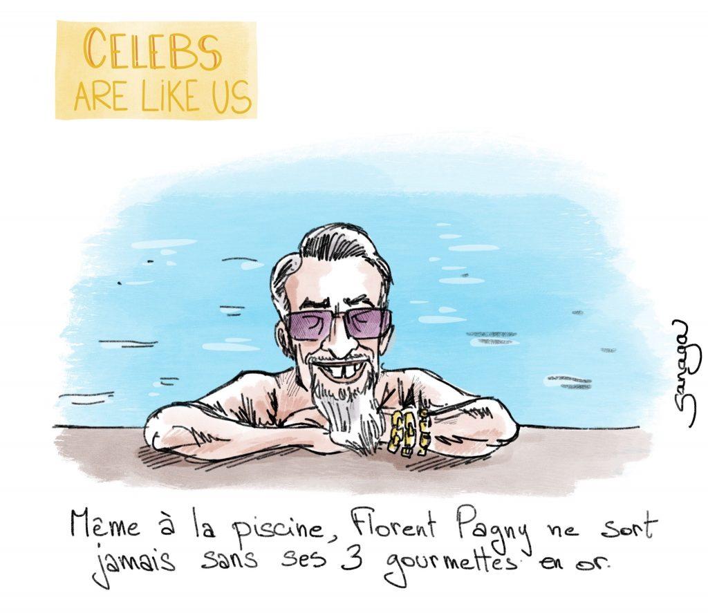 dessin presse humour Florent Pagny image drôle people actu stars célébrités