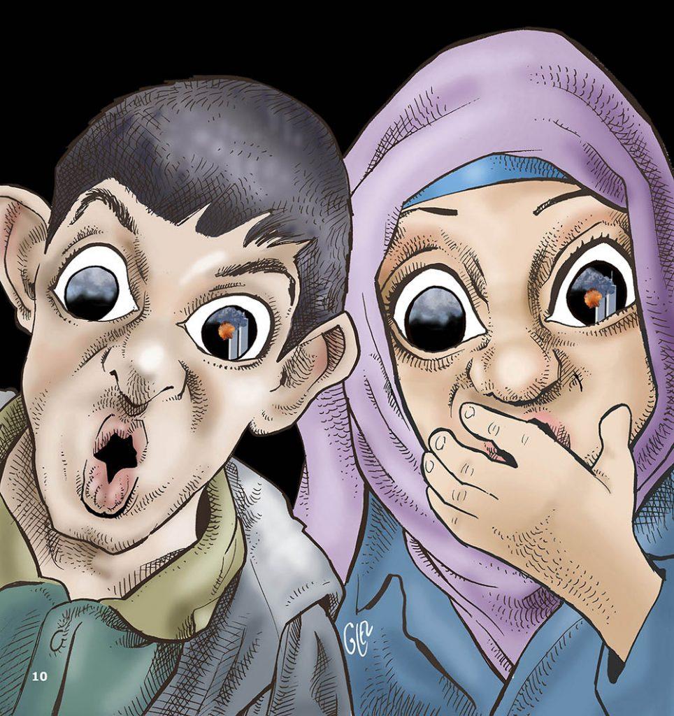 dessin presse humour 11 septembre image drôle attentats