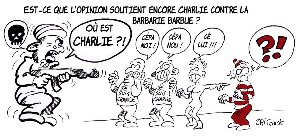 dessin presse humour je suis Charlie image drôle soutien opinion