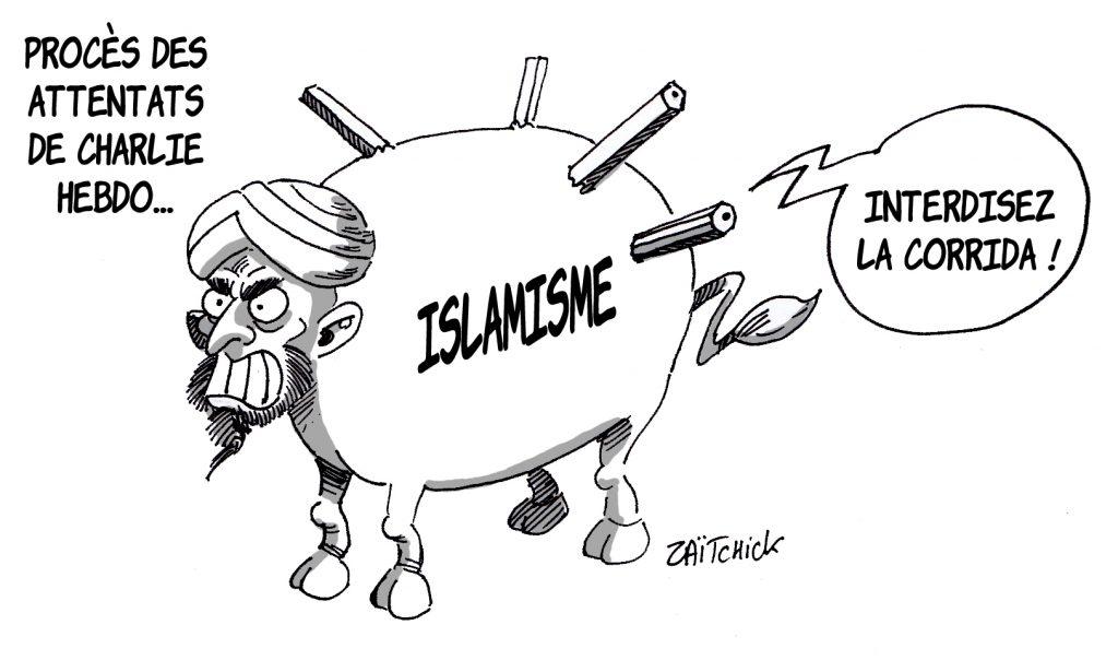 dessin presse humour attentat Charlie Hebdo image drôle intégrisme islamisme