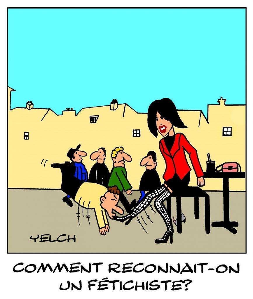 dessins humour fétichiste image drôle fétichisme