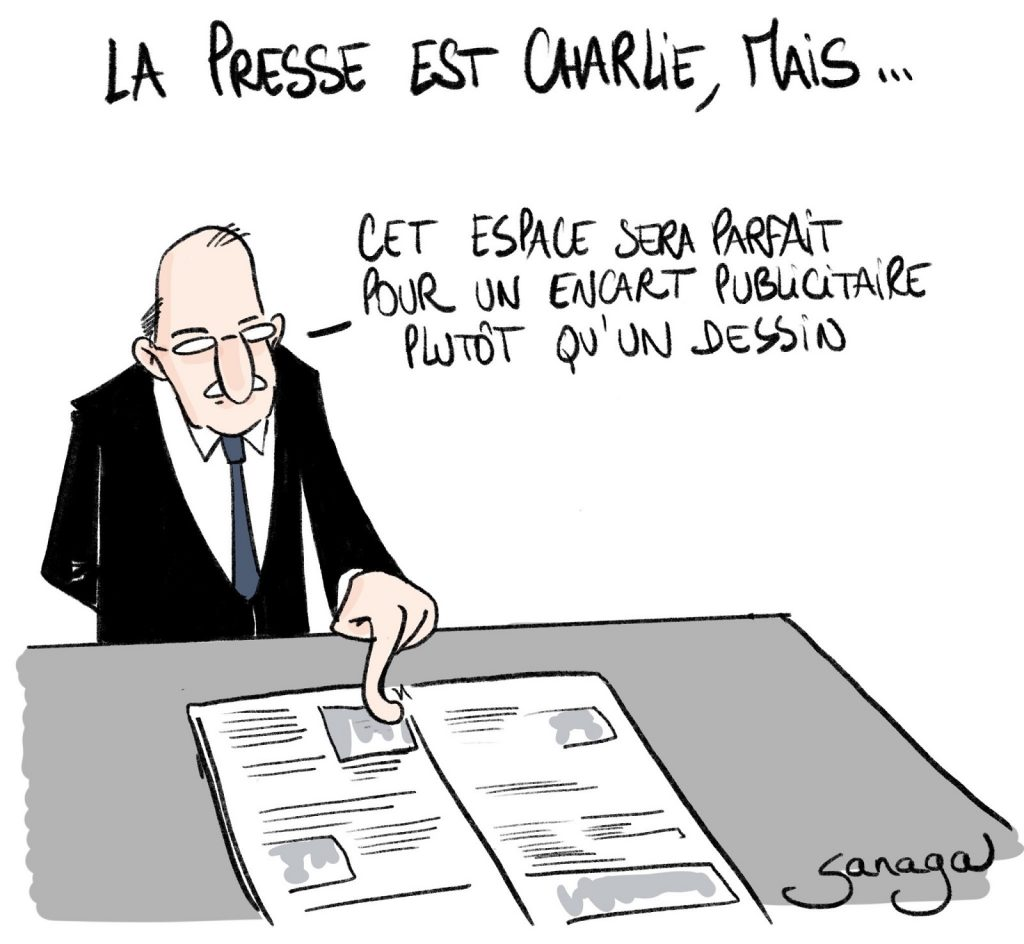 dessin presse humour Marc Large image drôle dessinateur Sud Ouest