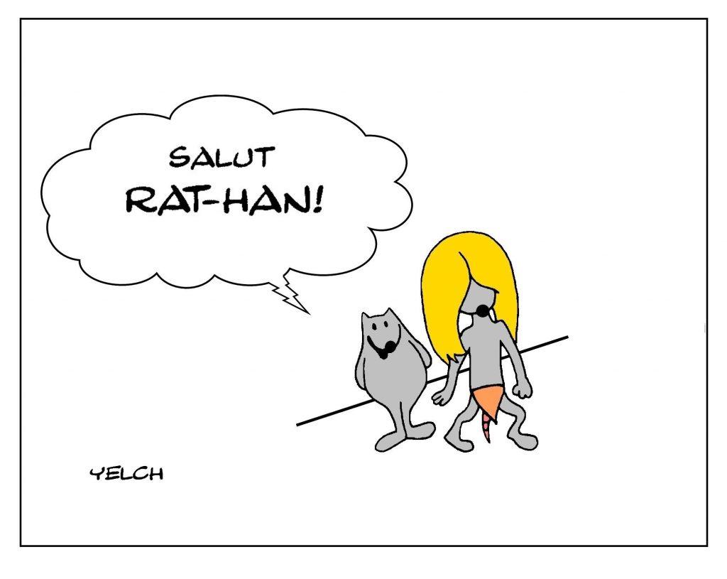 blague dessin Rahan humour image drôle bande dessinée