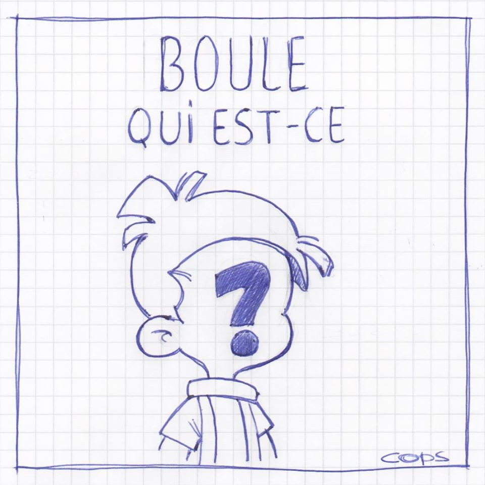 gag image drôle Boule et Bill dessin blague humour boule Quiès