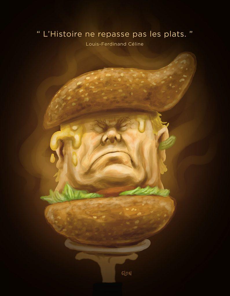 dessin presse humour États-Unis image drôle élections Donald Trump