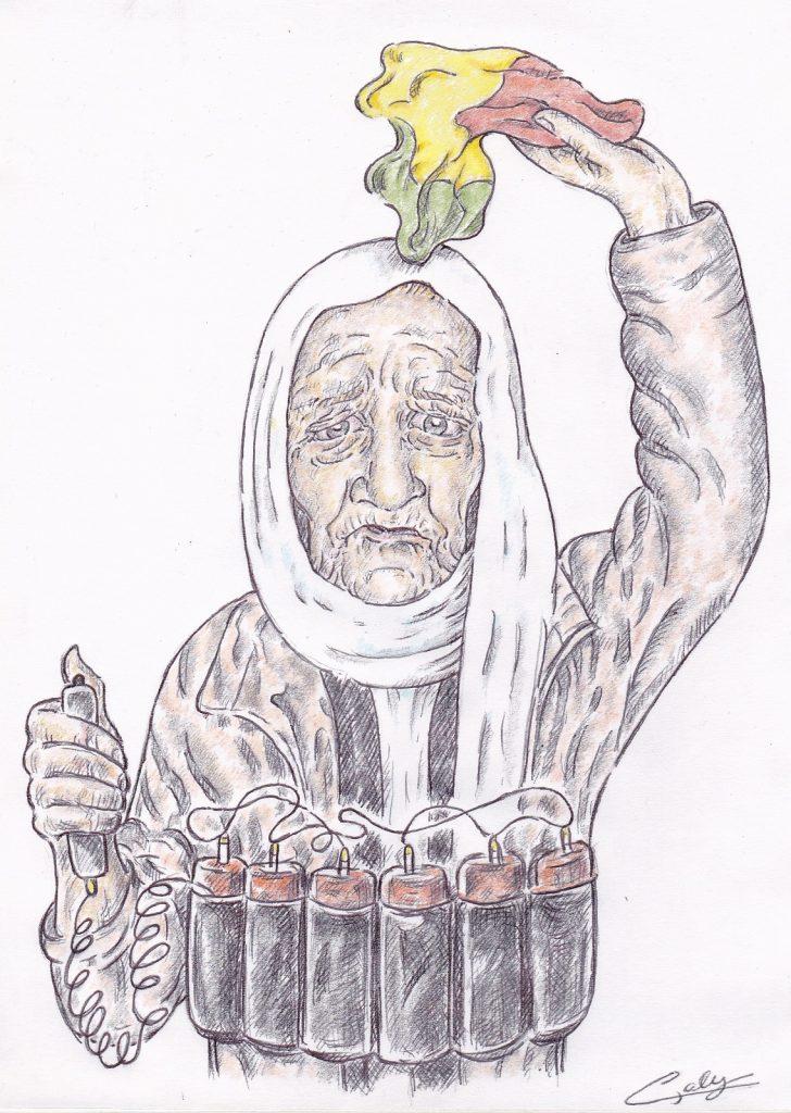image drôle Sophie Pétronin dessin humour Mali djihadistes