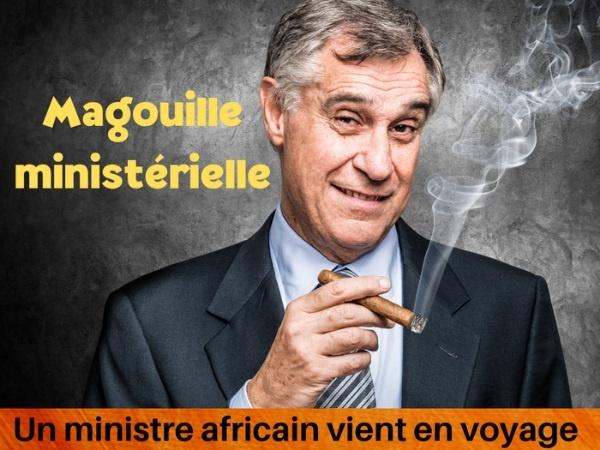 humour, blague français, blague africain, blague ministre, blague magouille, blague voyage officiel, blague fraude, blague détournement, blague autoroute, blague pot-de-vin, blague train de vie, blague homologue