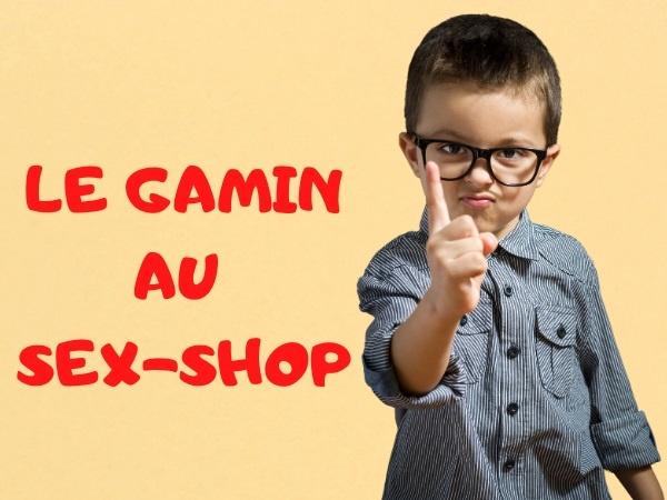 humour, blague sur les sex-shops, blague sur les commissions, blague sur les gamins, blague sur les chapeaux, blague sur les pères, blague sur les gifles