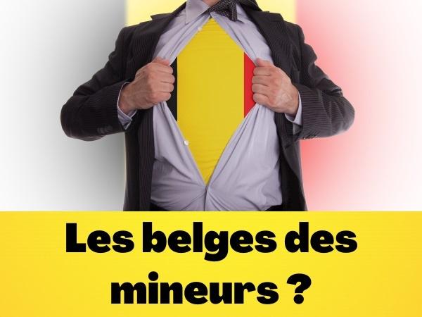humour, blague sur les Belges, blague sur les mineurs, blague sur les éclairages, blague sur les profondeurs, blague sur le travail de jour, blague sur les entretiens d'embauche