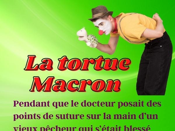 humour, blague Emmanuel Macron, blague tortue, blague piquet, blague pêcheur, blague politique, blague tortue piquet, Emmanuel Macron