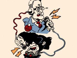 dessin presse humour loi sécurité globale image drôle Jean Castex contrôle