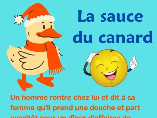 humour, blague cocue, blague infidélité, blague canard, blague cuisine, blague sauce, blague sexe, blague vengeance