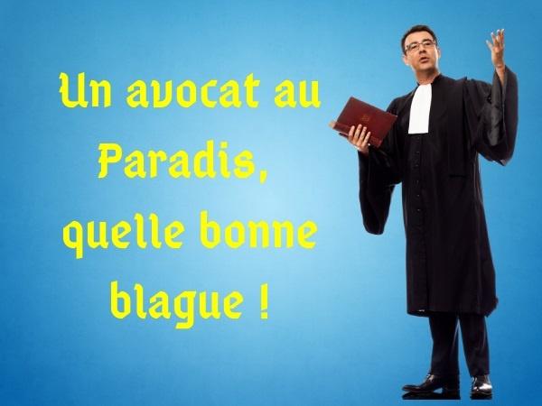humour, blague sur les métiers, blague sur les avocats, blague sur le Paradis, blague sur les juges, blague sur les religions, blague sur l'Enfer