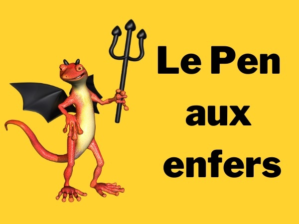 humour, blague sur Jean-Pierre Stirbois, blague sur Jean-Marie le Pen, blague sur l'antisémitisme, blague sur le Paradis, blague sur Dieu, blague sur les religions