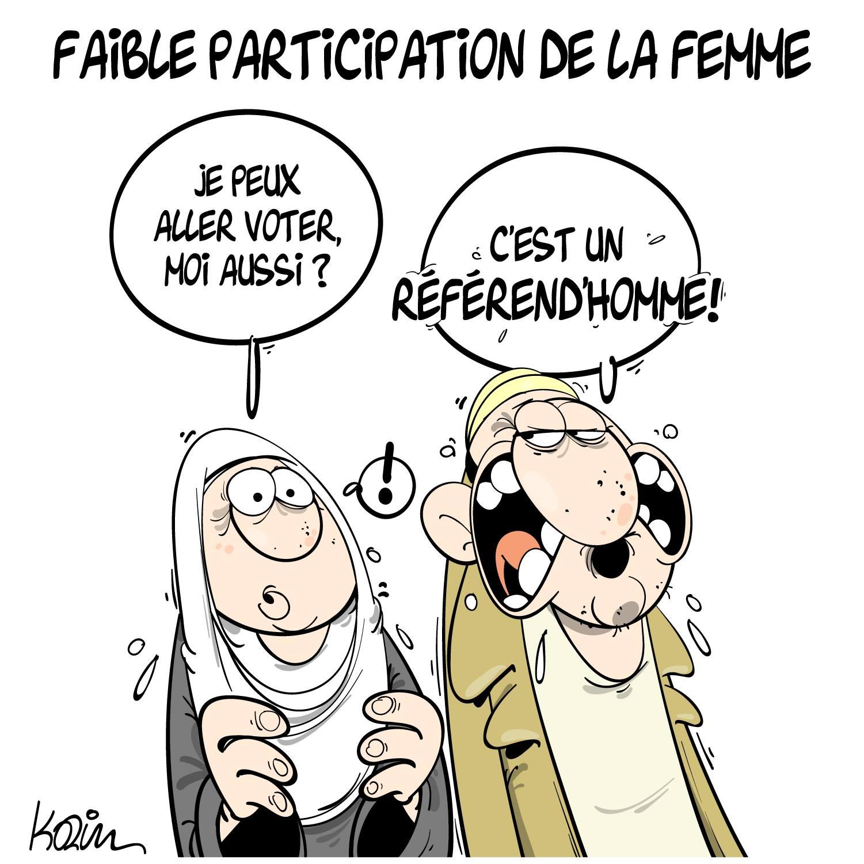 Algerie Faible Participation De La Femme Blagues Et Dessins