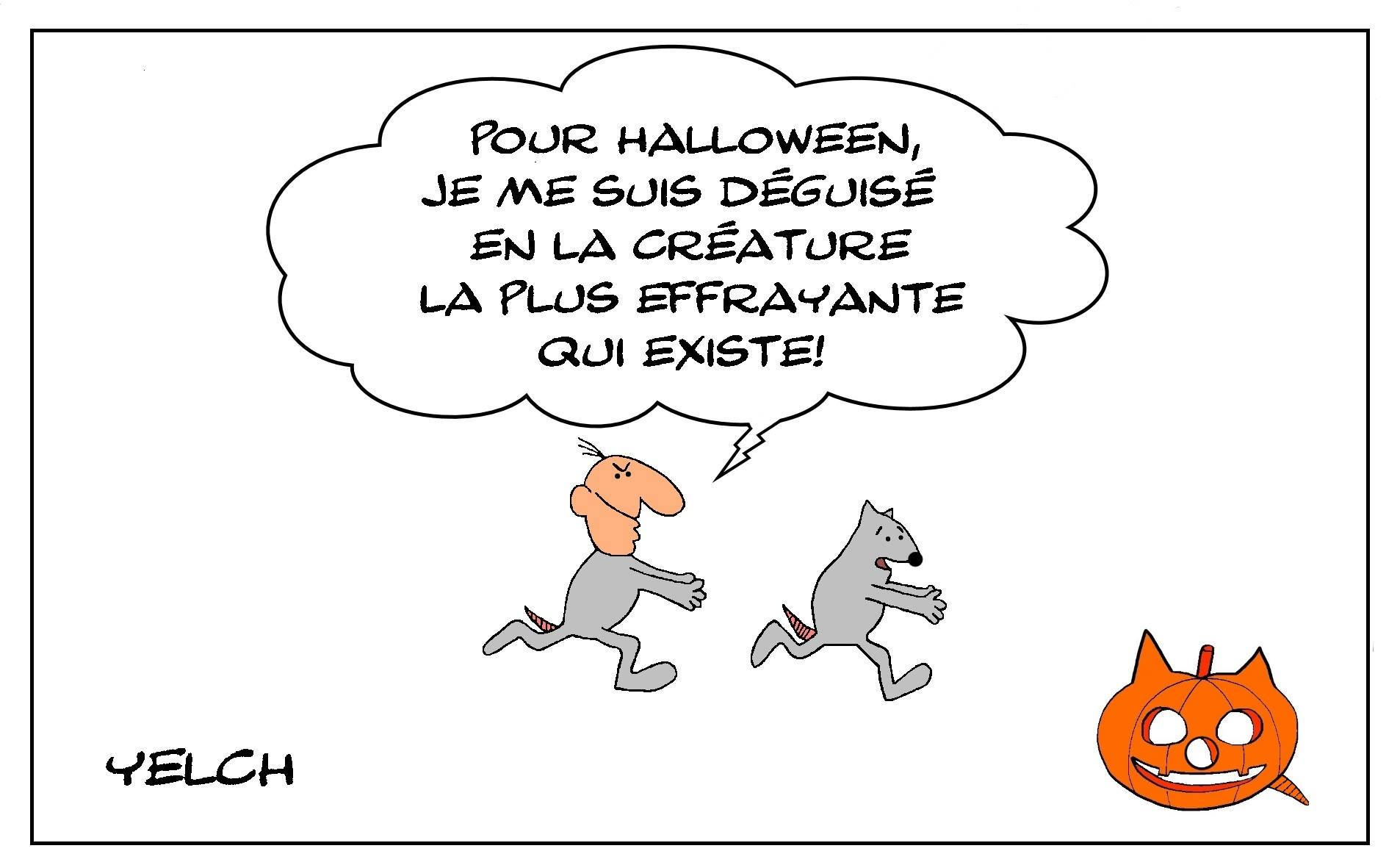 Dessin D Halloween Blagues Et Dessins