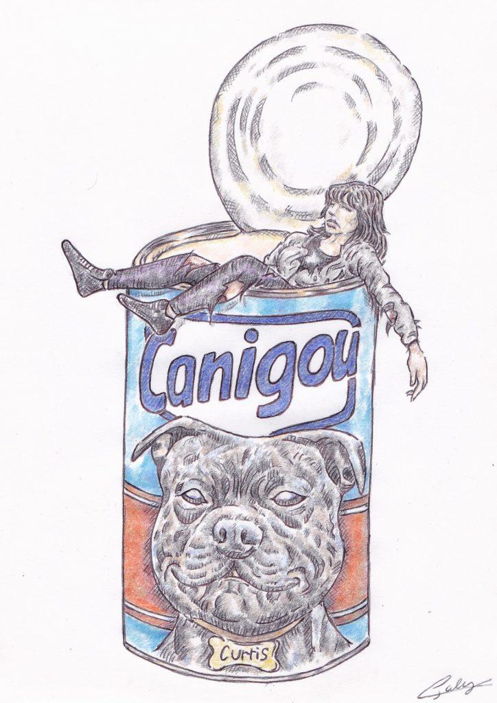 image drôle Elisa Pilarski dessin humour chien Curtis Canigou