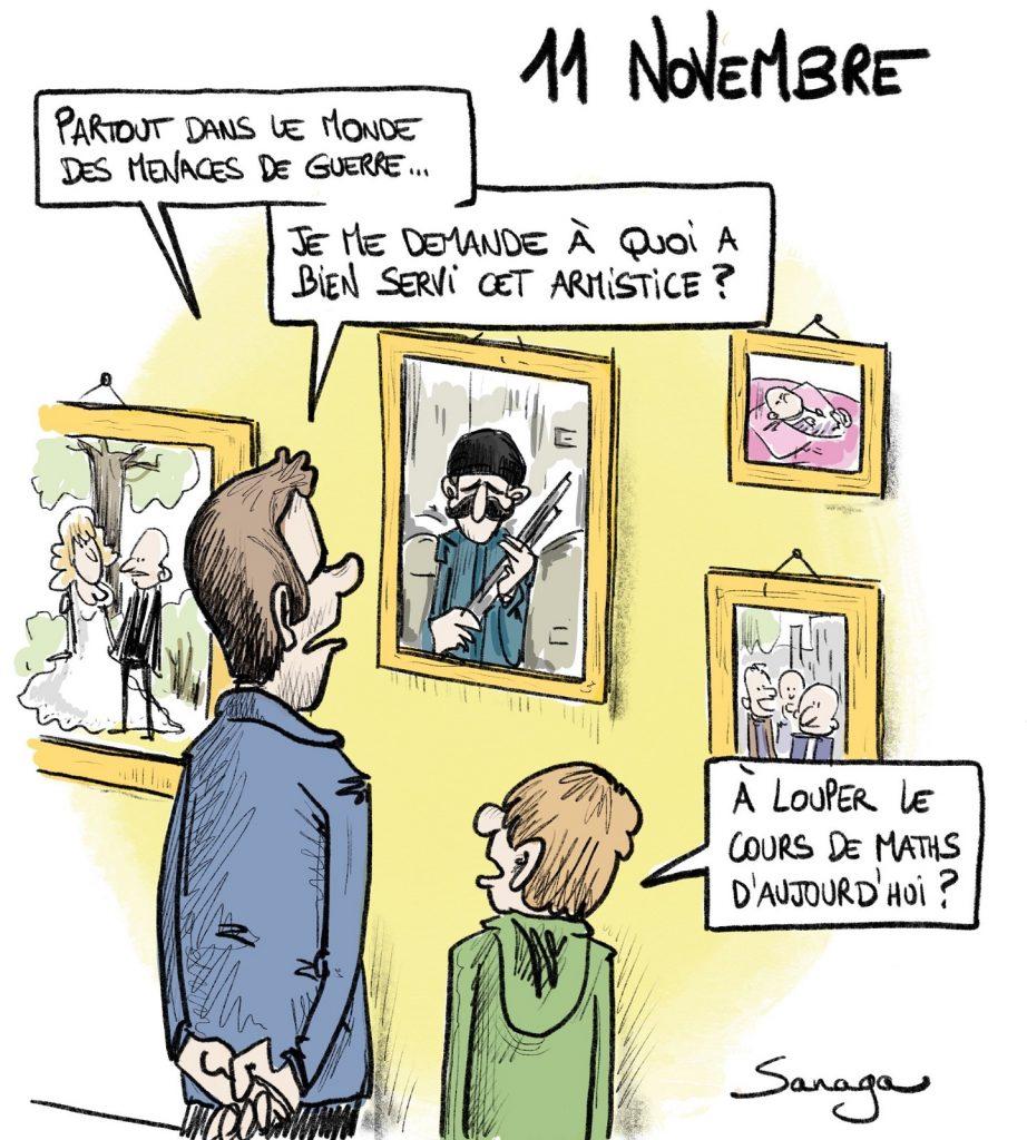dessin presse humour onze novembre image drôle armistice 11 novembre