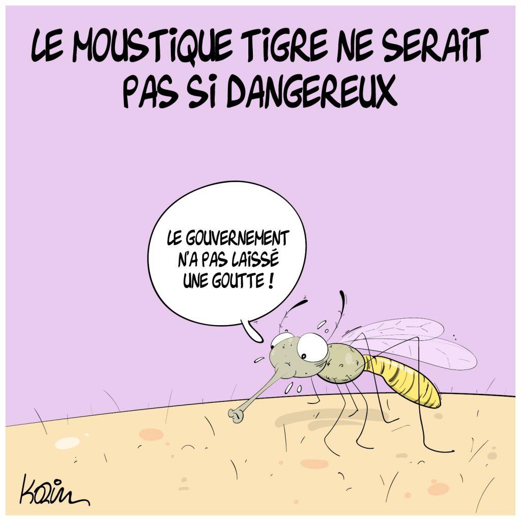 dessin presse humour moustique tigre image drôle impôts taxes danger