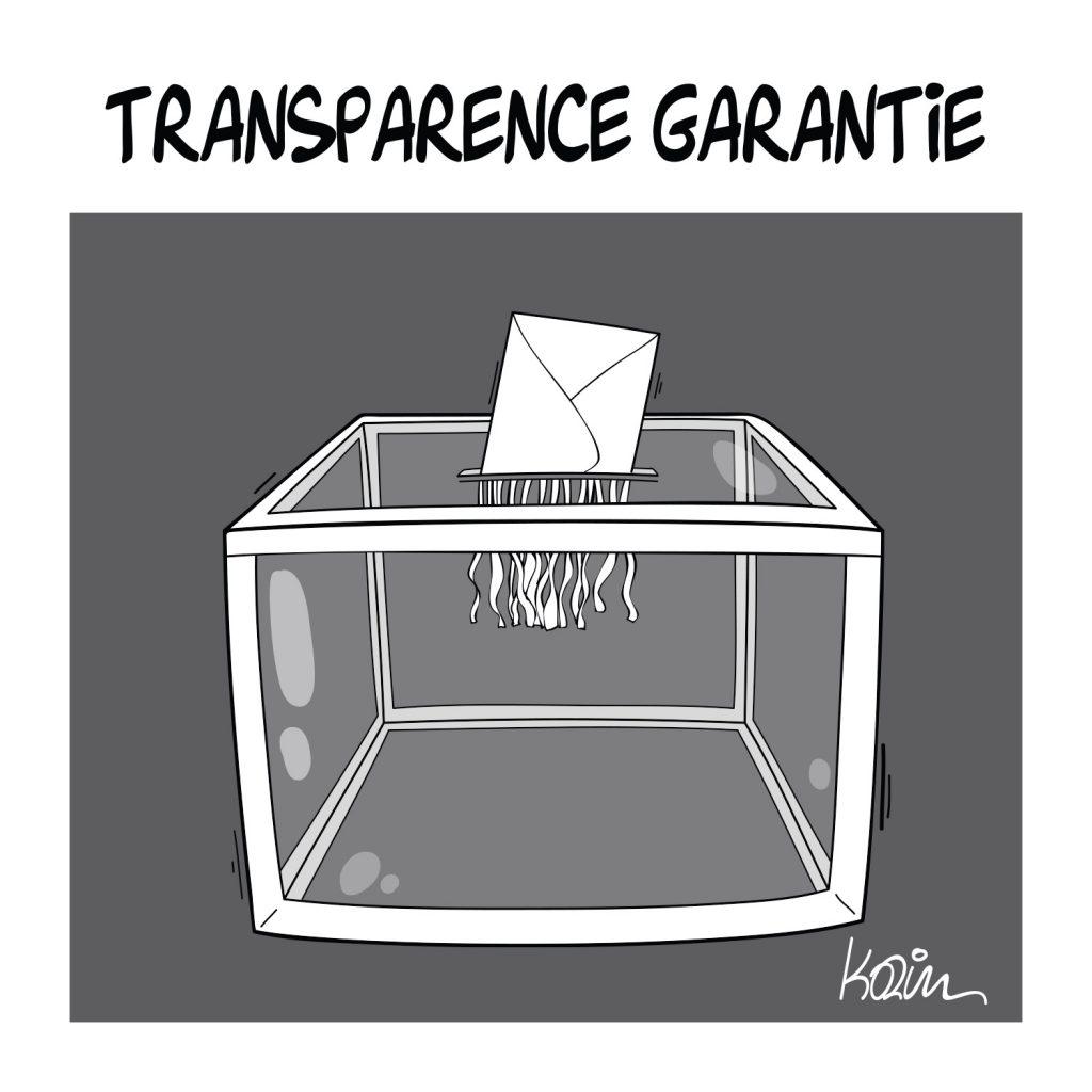 dessin presse humour élections image drôle urnes électorales
