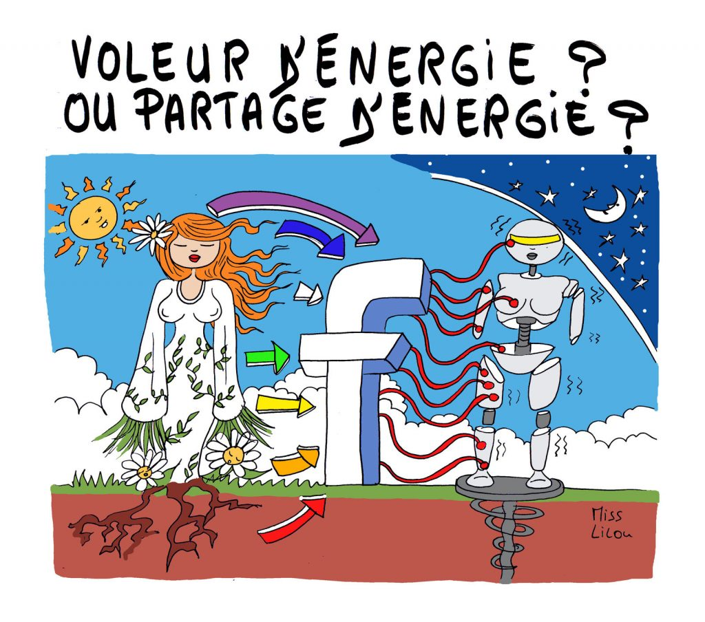 dessin presse humour Facebook réseaux sociaux image drôle énergie