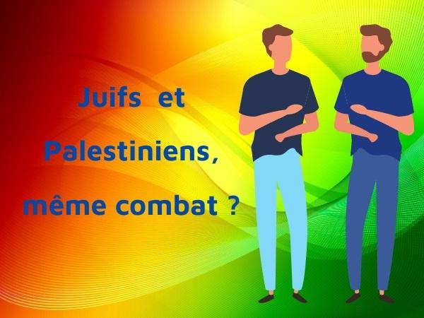 humour, blague sur les points communs, blague sur les Juifs, blague sur les palestiniens, blague sur la paix, blague sur la Palestine, blague sur la circoncision
