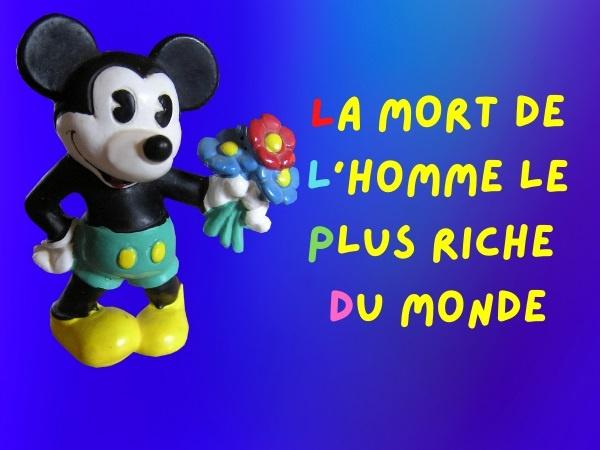 humour, blague sur la richesse, blague sur le PSG, blague sur le Paris Saint-Germain, blague sur Mickey, blague sur le football, blague sur les enfants