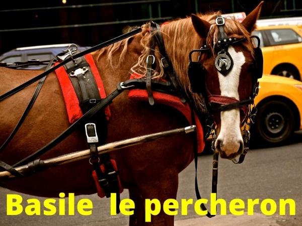 humour, blague sur le Larzac, blague sur les percherons, blague sur les chevaux, blague sur les fainéants, blague sur le verglas, blague sur les fossés