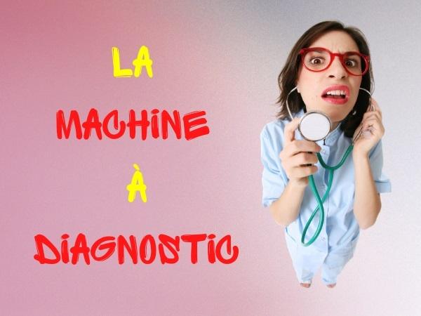 humour, blague sur les technologies, blague sur la santé, blague sur les machines, blague sur les diagnostics, blague sur les tendinites, blague sur les échantillons