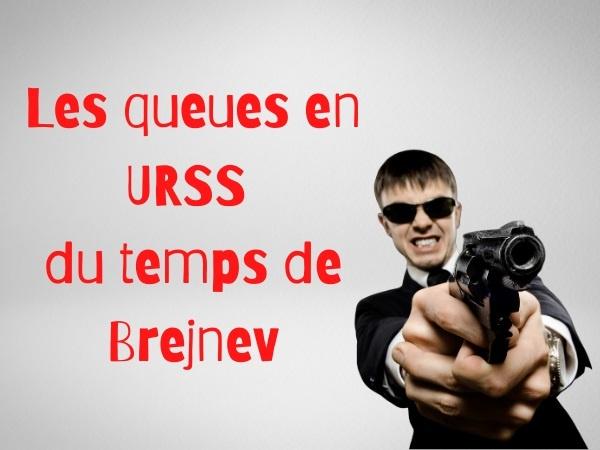 humour, blague sur l'URSS, blague sur les queues, blague sur les files d'attente, blague sur Léonid Brejnev, blague sur les meurtres, blague sur le communisme