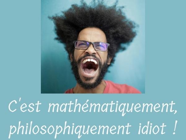 humour, blague sur Satan, blague sur les énigmes, blague sur les mathématiciens, blague sur les philosophes, blague sur les idiots, blague sur les équations