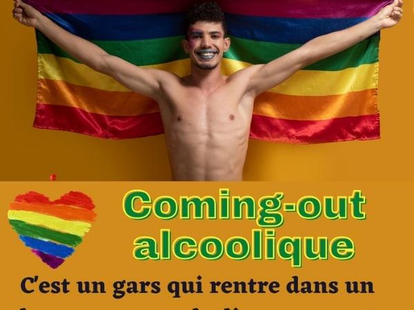 humour, blague sur les bars, blague sur le whisky, blague sur les découverts, blague sur l'homosexualité, blague sur les coming out, blague sur les lesbiennes