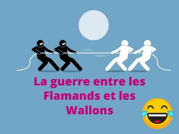 humour, blague sur les Flamands, blague sur les Wallons, blague sur les guerres de tranchées, blague sur les Belges, blague sur les soldats, blague sur les massacres