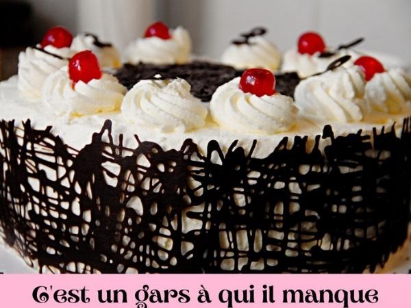 humour, blague sur les gâteaux d'anniversaire, blague sur les pâtisseries, blague sur les prénoms, blague sur les pétales, blague sur les poutrelles, blague sur les débiles