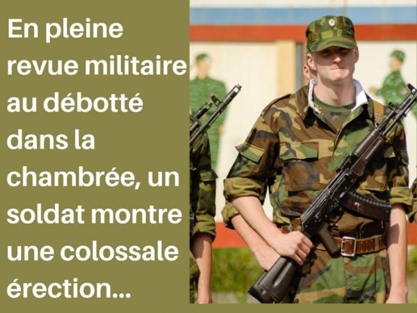humour, blague sur les militaires, blague sur les érections, blague sur les douleurs, blague sur les coups, blague sur les sergents-chefs, blague sur les zézettes