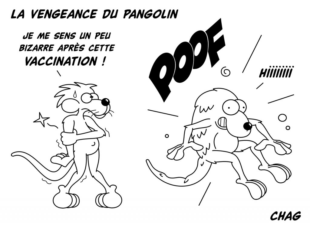 dessin humoristique coronavirus covid-19 image drôle vaccin anti-covid effets secondaires