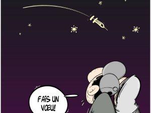 dessin presse humour coronavirus covid-19 image drôle Algérie Spoutnik vaccin
