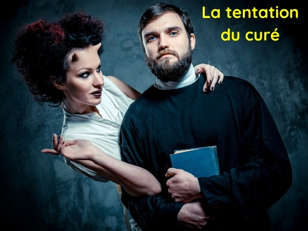 humour, blague religion, blague curé, blague tentation, blague confession, blague âne, blague sexe, blague nudité, blague pénitence