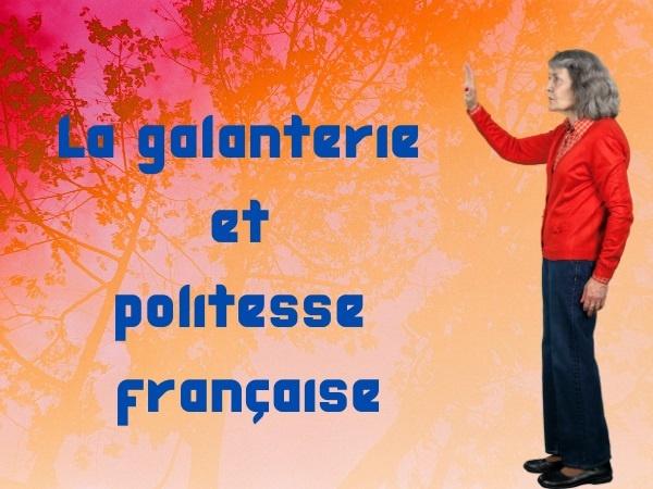 humour, blague sur les Québécoises, blague sur les français, blague sur la galanterie, blague sur la politesse, blague sur les carrefours, blague sur traverser la route