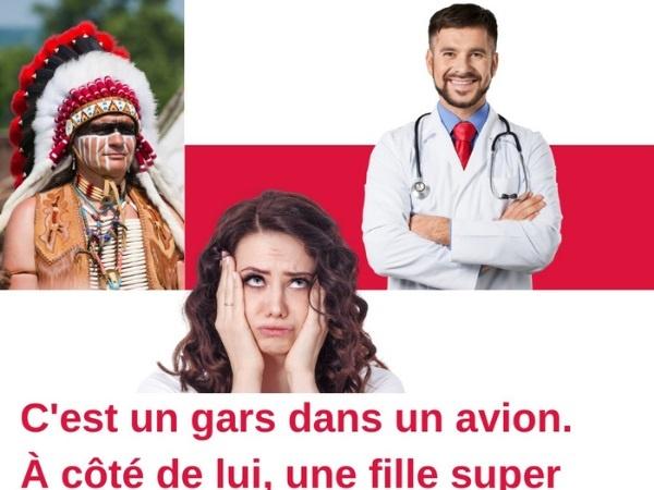 humour, blague sur la sexualité, blague sur les Indiens, blague sur les polonais, blague sur les médecins, blague sur la drague, blague sur les statistiques sexuelles