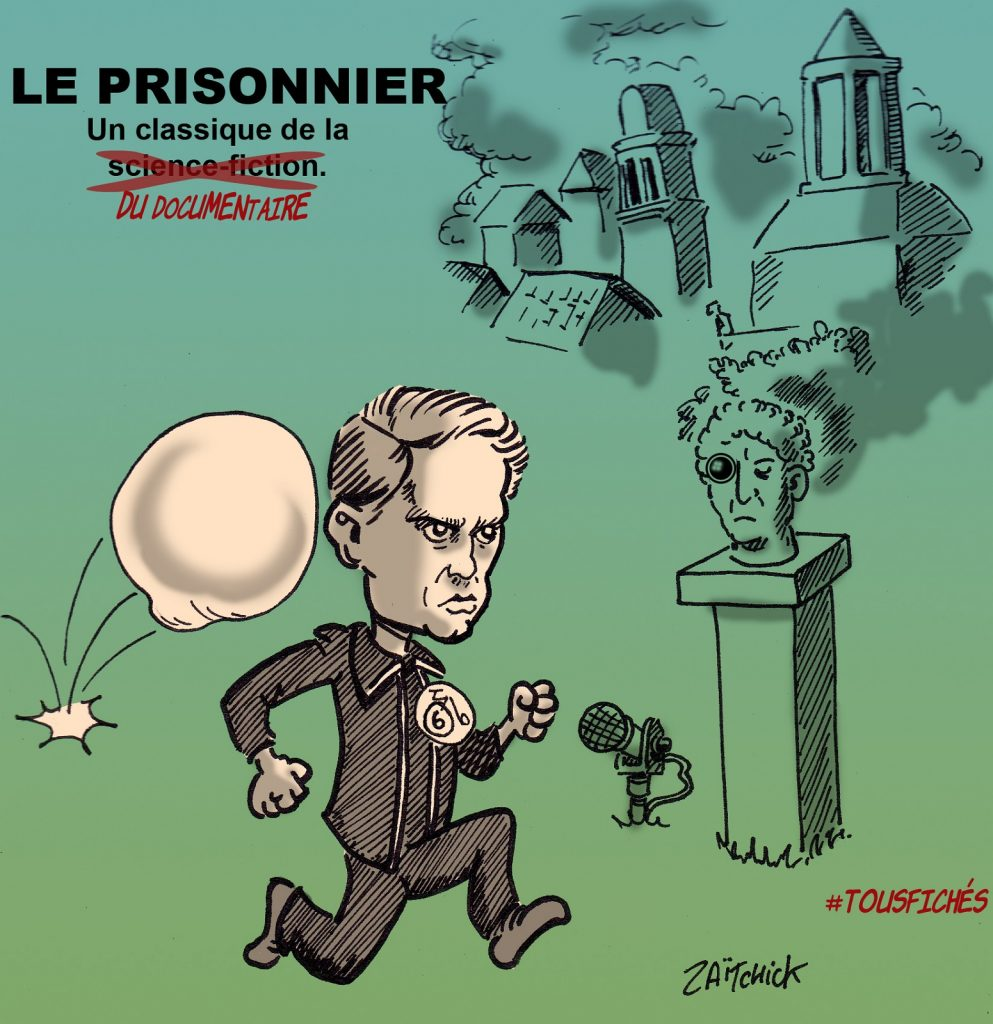 dessin presse humour loi sécurité globale image drôle décrets sécurité intérieure prisonnier