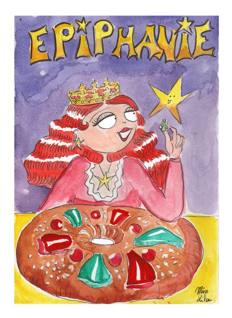 dessin presse humour épiphanie image drôle galette des rois