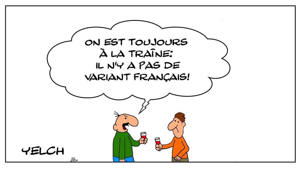 dessins humour covid-19 coronavirus image drôle variant français