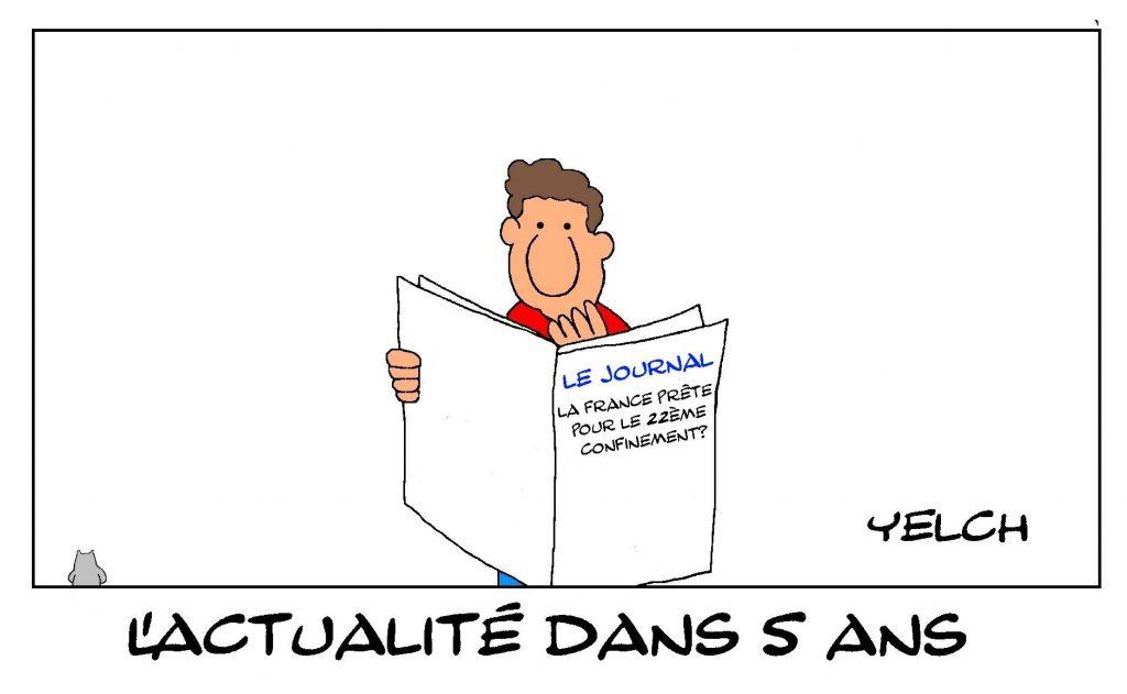 dessins humour coronavirus covid-19 image drôle confinement France