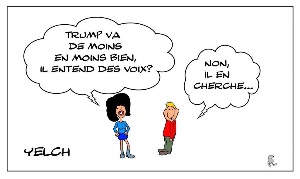 dessins humour États-Unis image drôle Donald Trump élections