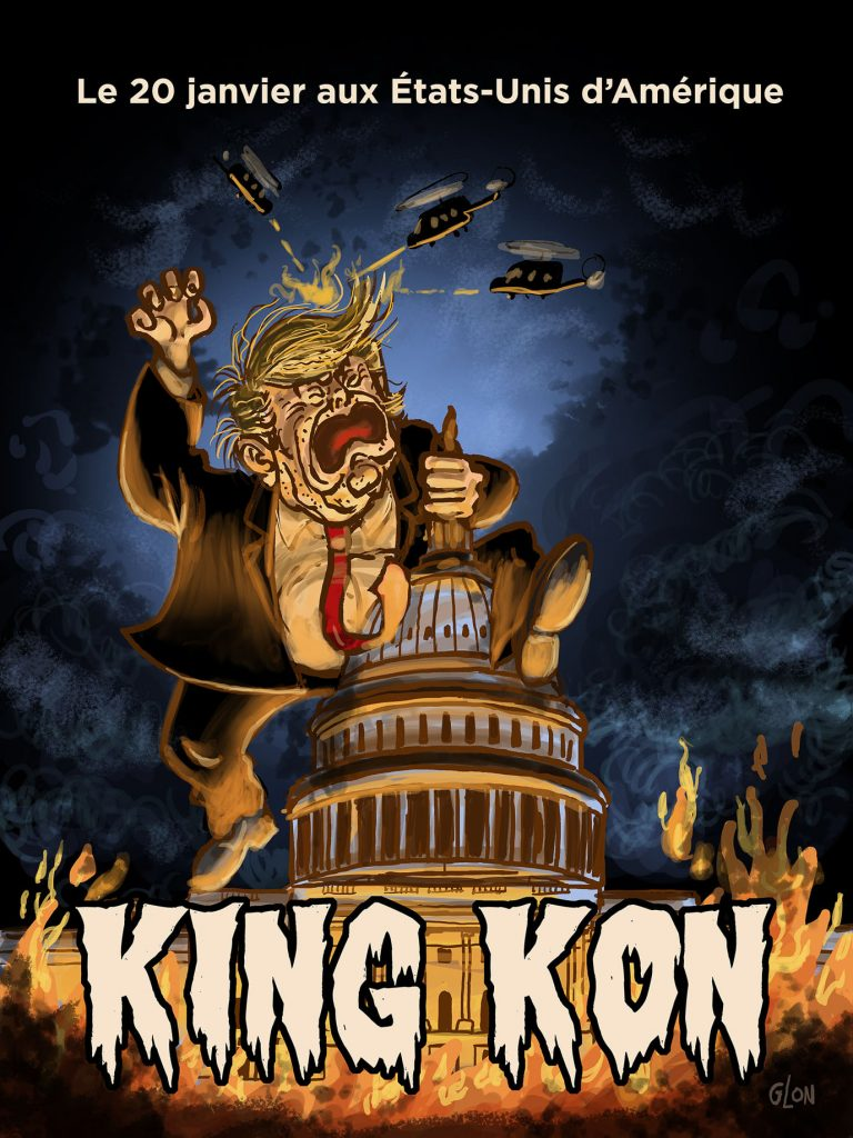 dessin presse humour États-Unis Amérique image drôle Donald Trump Capitole